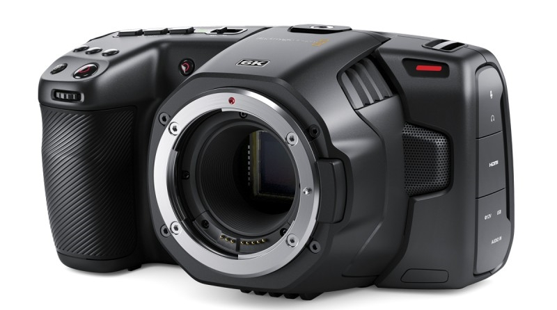 pocket cinema camera 6K blackmagic